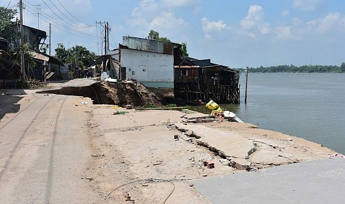 At least 51 locations under threat of subsidence in southern Vietnamese province