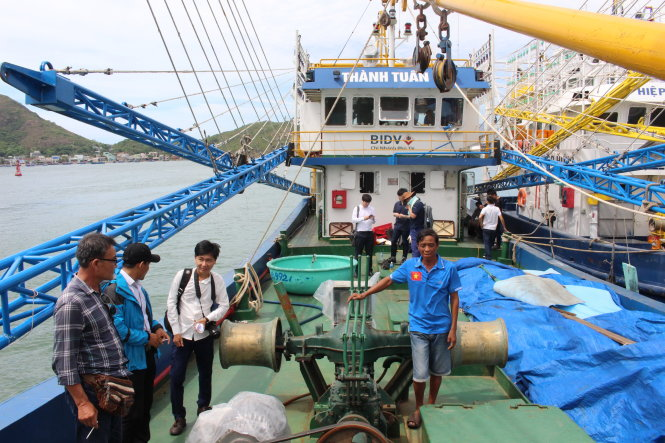 Shipbuilders allegedly buy silence as poor-quality fishing boats inspected in central Vietnam