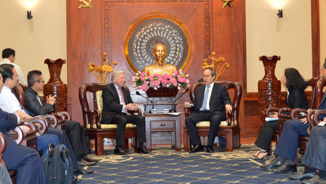 Ho Chi Minh City eyes cooperation with Microsoft on smart city development