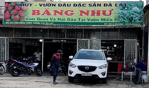 Buyer beaten for returning bottle of juice in Vietnam's Da Lat
