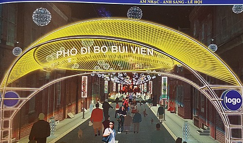 Bui Vien to turn into Ho Chi Minh City's second Walking Street next month