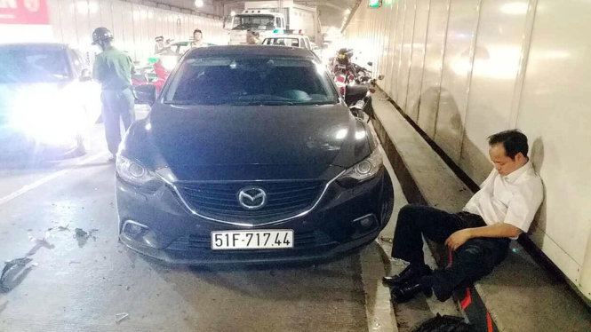 Reckless driver faces criminal charges over pile-up in Saigon River Tunnel