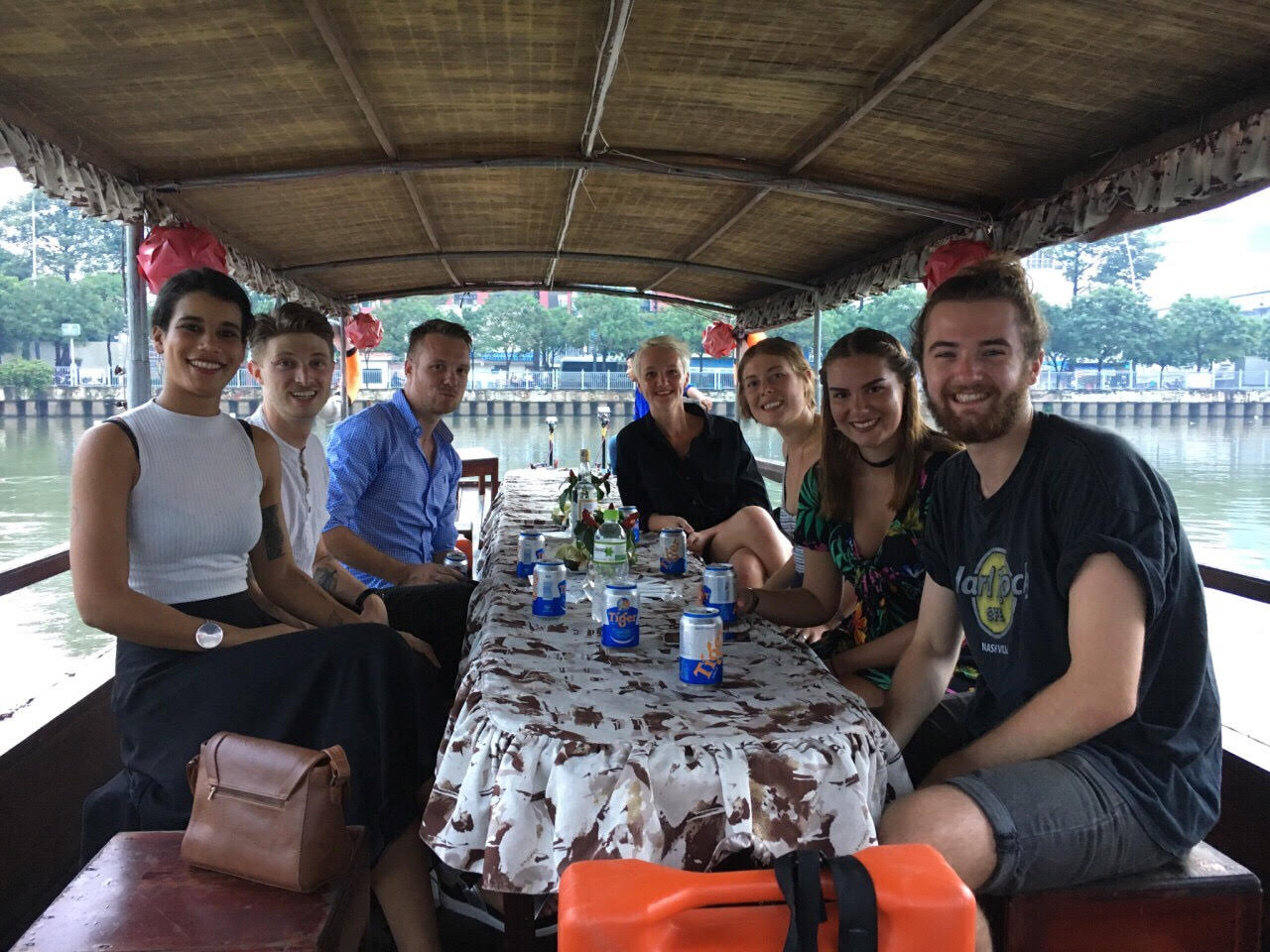 Expats on Ho Chi Minh City waterway tourism