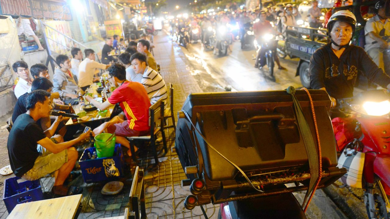 Noise stresses out Ho Chi Minh City residents