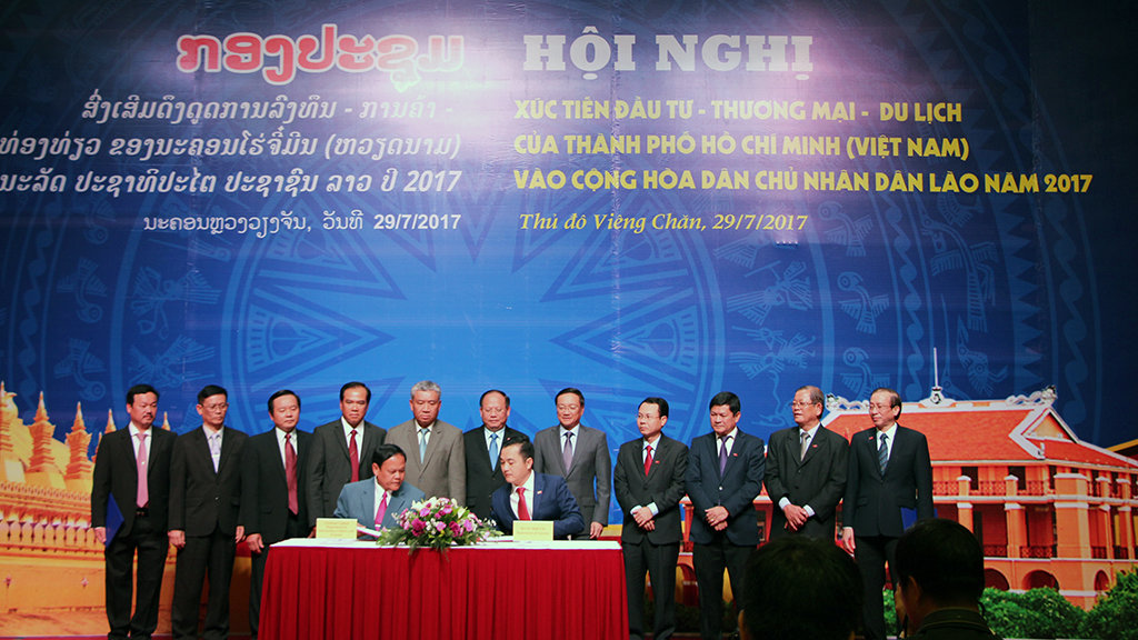 Ho Chi Minh City boosts investment in Laos