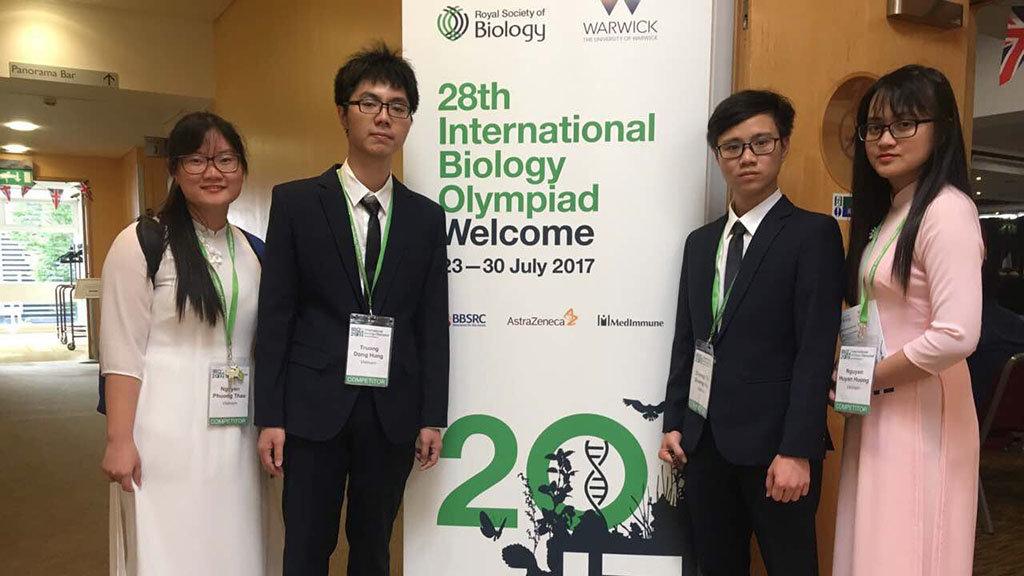 Vietnam strikes gold at Int'l Biology Olympiad
