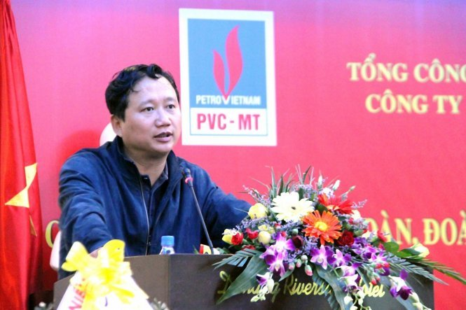 Fugitive ex-chairman of Vietnam state-run firm turns self in after a year