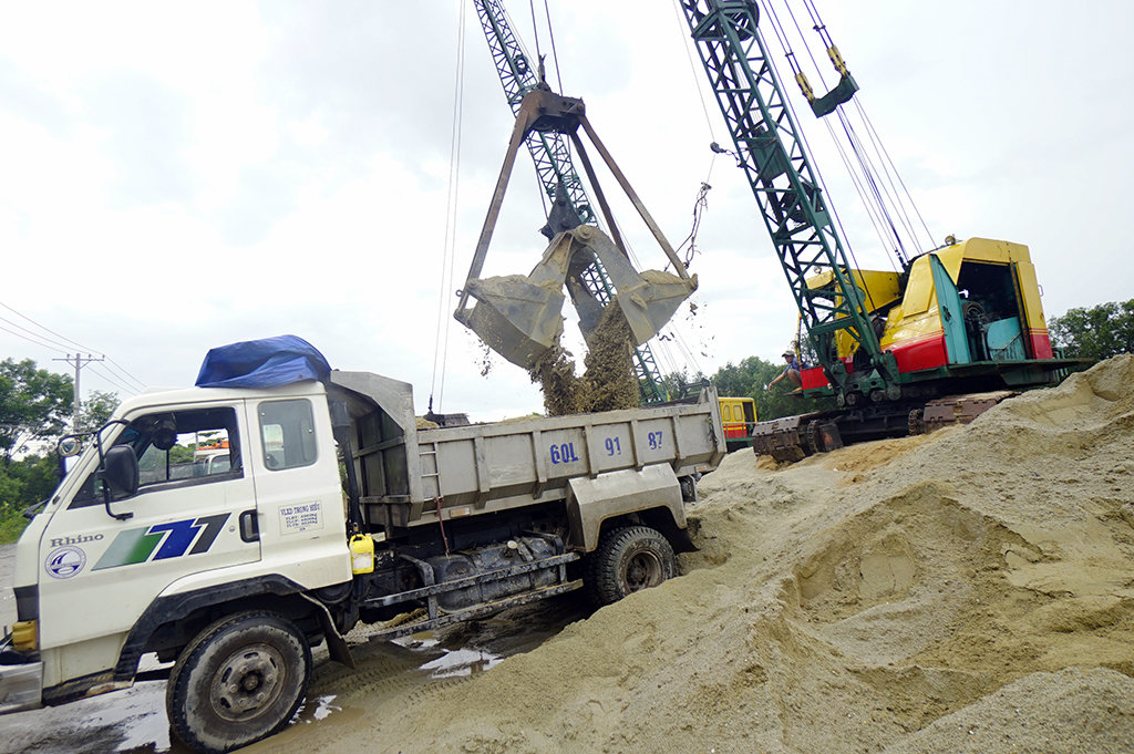 ​Vietnam forecast to run out of construction sand by 2020