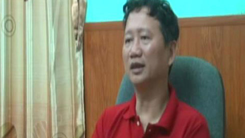 Trinh Xuan Thanh confesses on state TV to turning himself over to authorities
