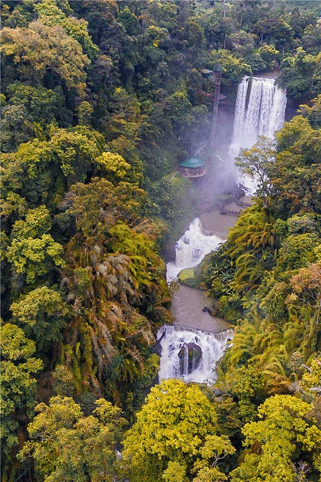 Dambri Waterfall in Bao Loc District