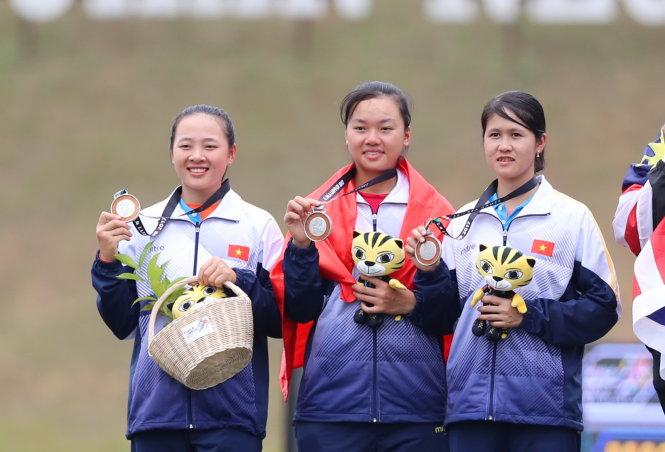 Déjà vu: Vietnam archers fall short of SEA Games gold