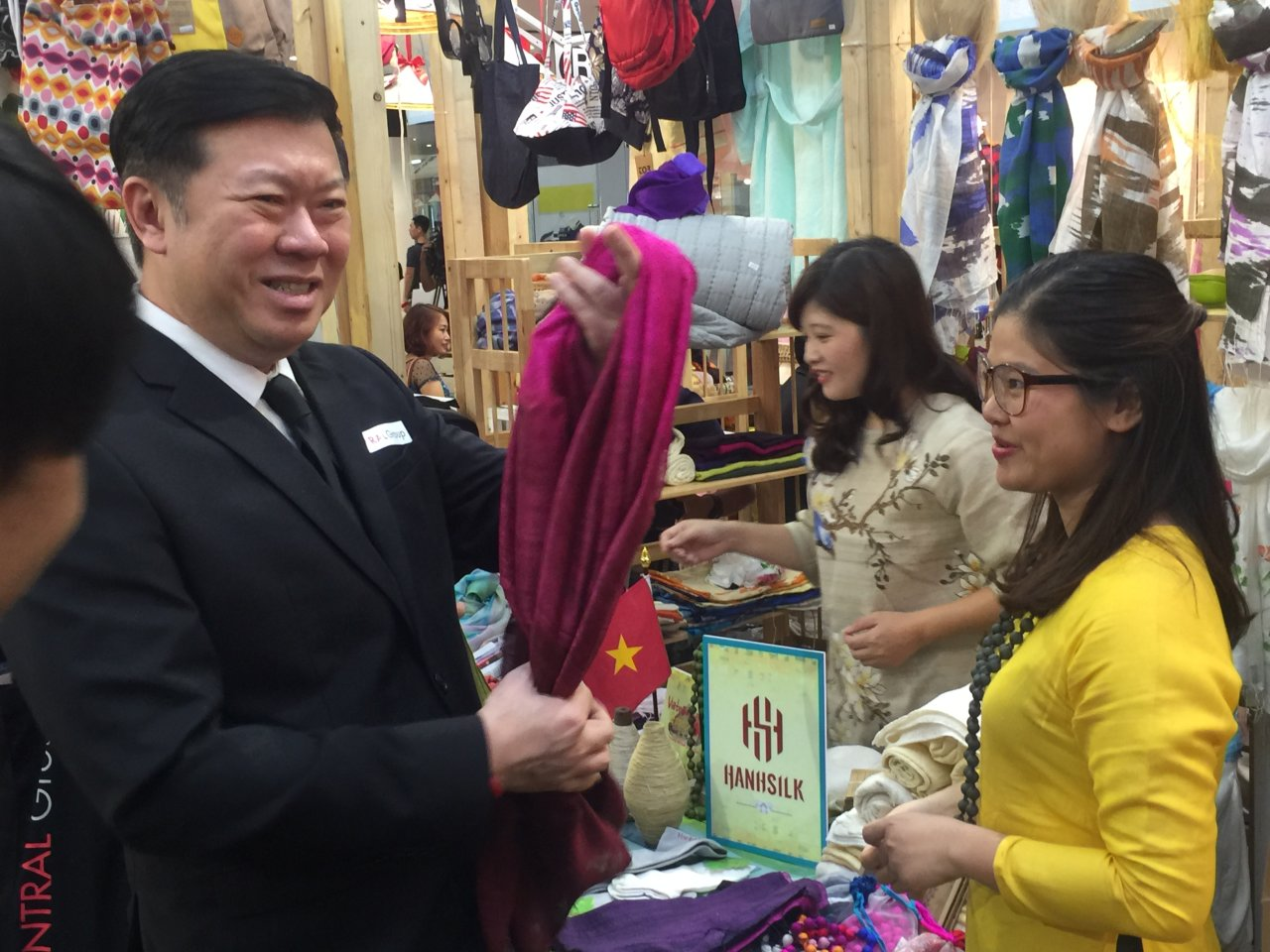 Vietnamese businesses in pursuit of entry into Thai consumer market