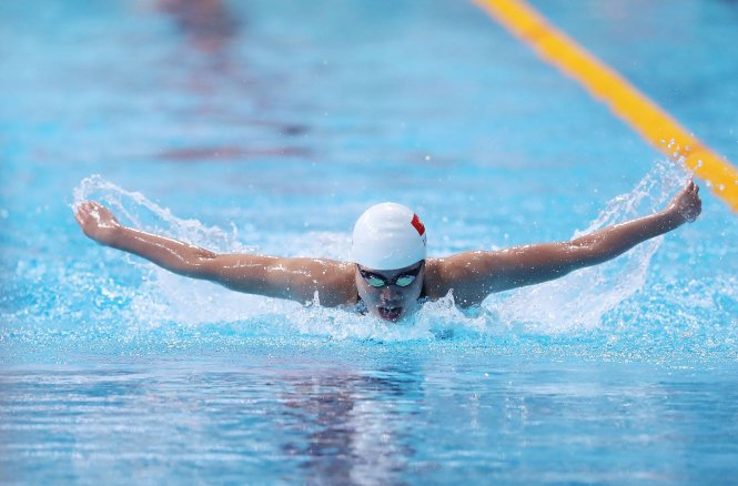 ​Call for coaching change on table after Vietnam's top swimmer fails at Asian Games