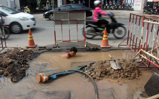 Swiss firm claims to cut Saigon's daily water loss by 500,000m³