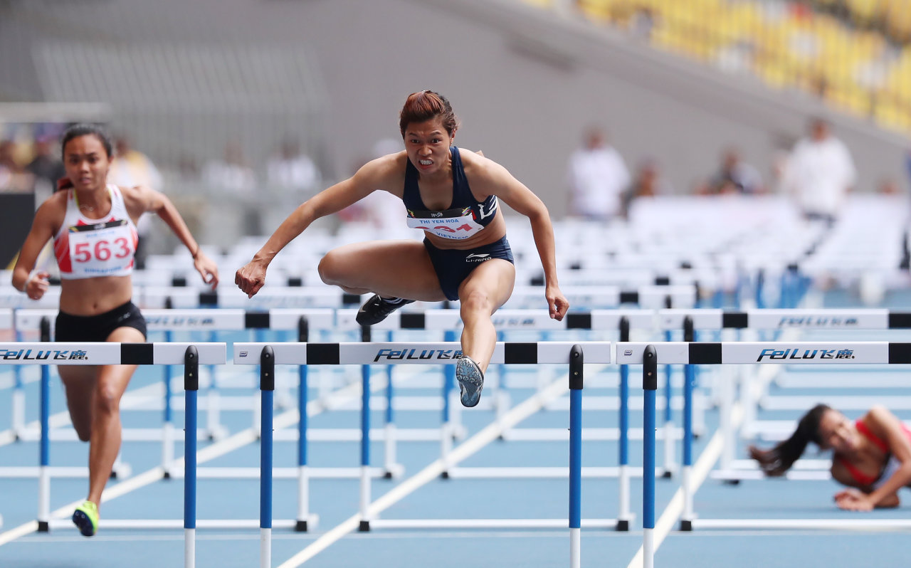 Vietnam's track-and-field team ends Thai dominance at SEA Games