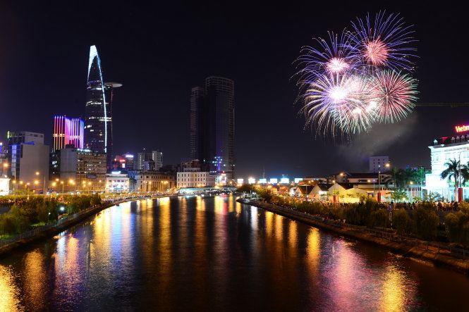 Fireworks to light up in Ho Chi Minh City on Independence Day