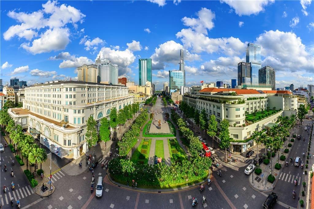 'Saigon skyline symphony' by Nguyen The Duong – third prize