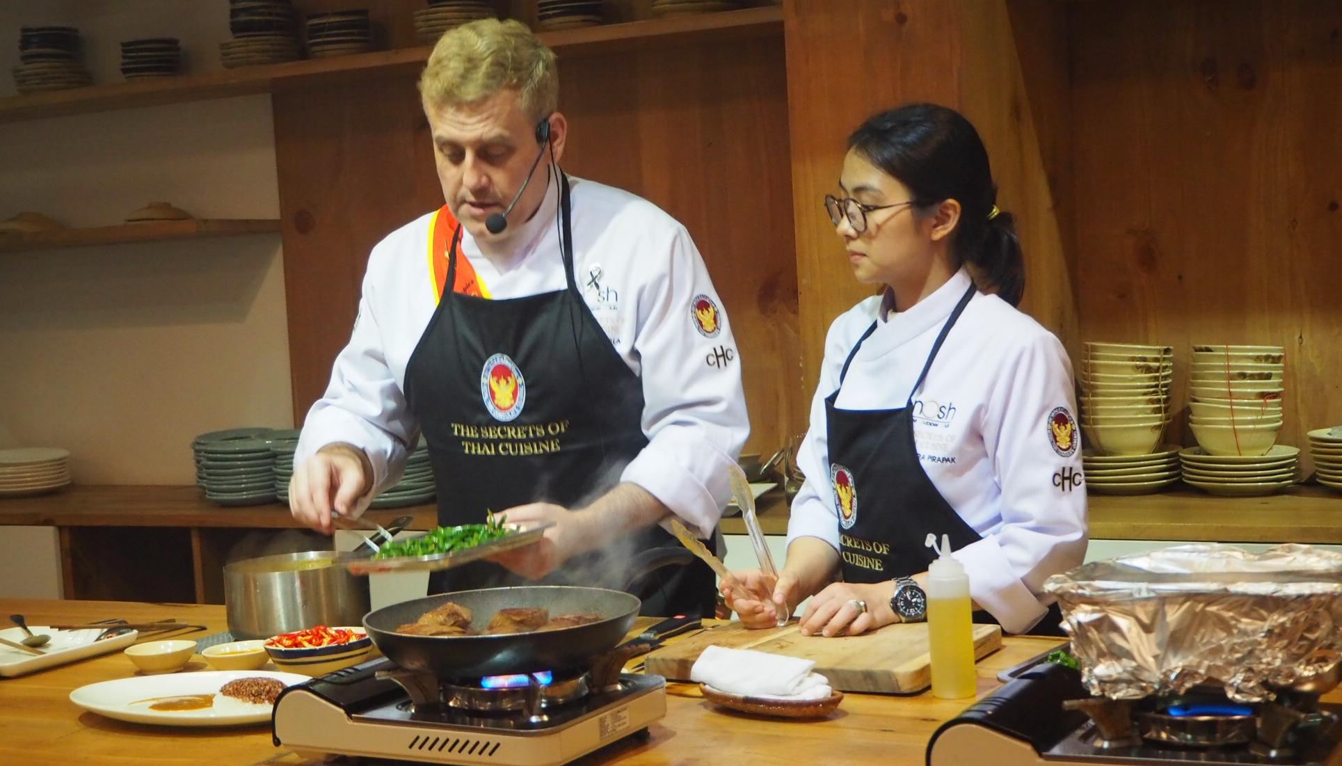 Secrets of Thai cuisine revealed to Saigon audience