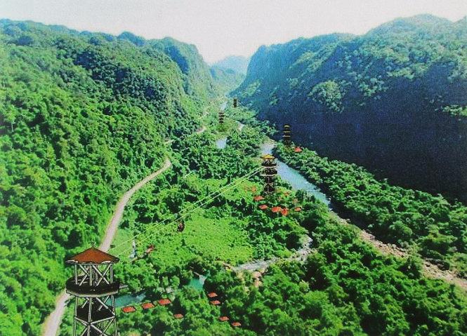 Vietnam firm to build world's longest zip-line near Son Doong Cave