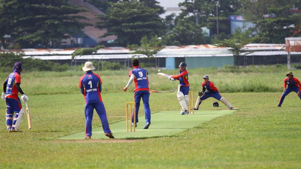 Vietnam's first national cricket team