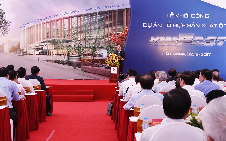 Vietnam's Vingroup starts construction on $1-1.5 billion first phase car factory