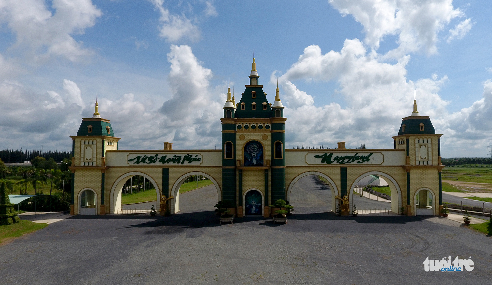From Happyland to grazing land: the demise of Vietnam's largest theme park
