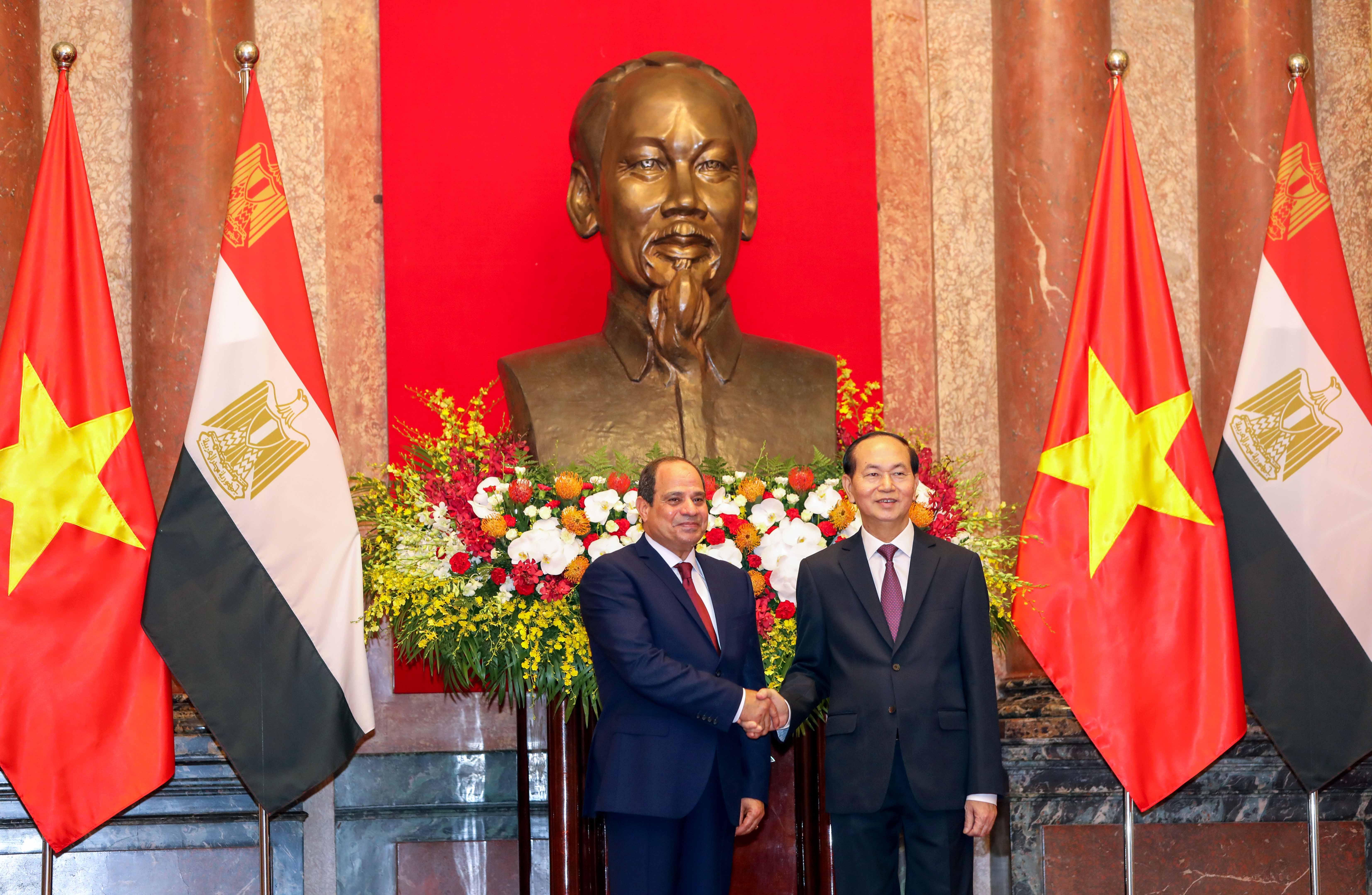 Egypt's Sisi eyes $1 billion in trade on Vietnam visit