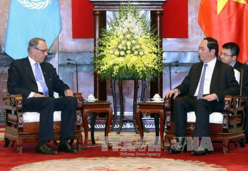 Vietnam an active, responsible UN member: state president