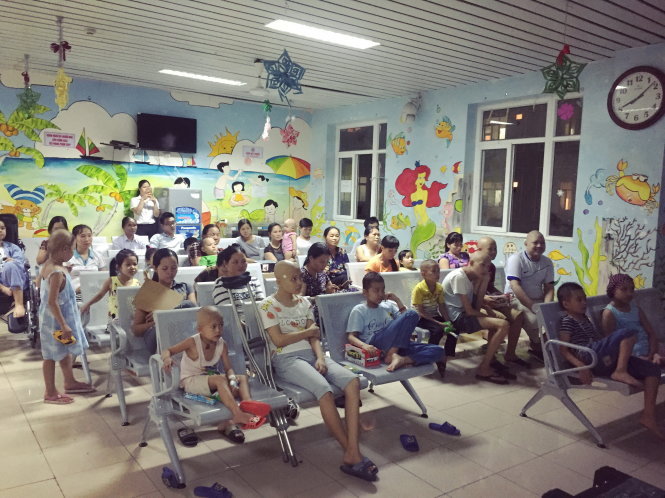 Hanoi hospital opens weekly 'cinema' for children with cancer