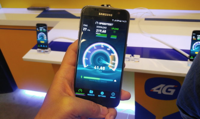 4G quality of Vietnam's mobile carriers put to test