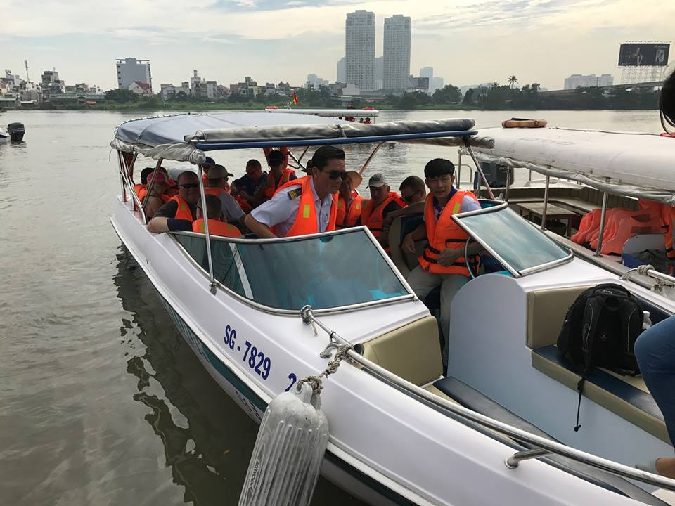 Seven new river tours launched in Saigon