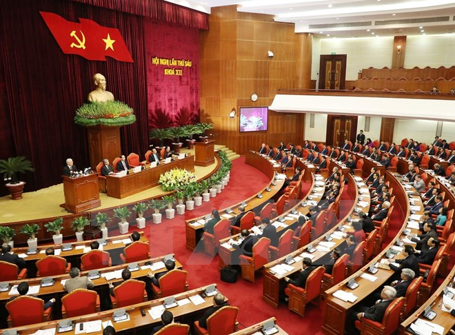 ​Vietnam's Party Central Committee commences sixth plenum