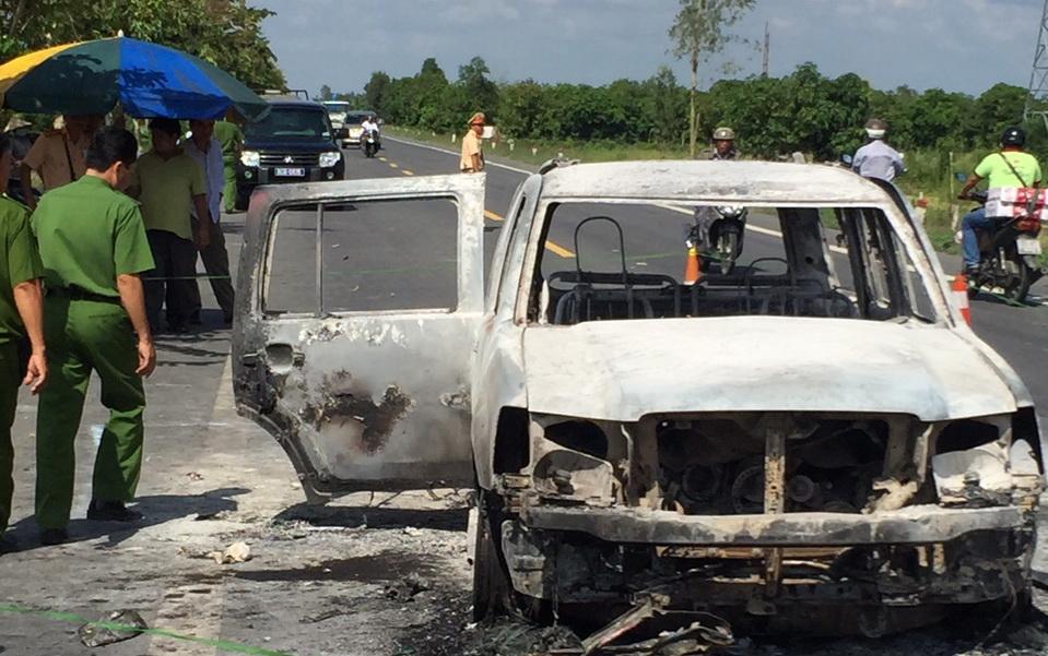 Muggers attack, burn company directors' car in southern Vietnam