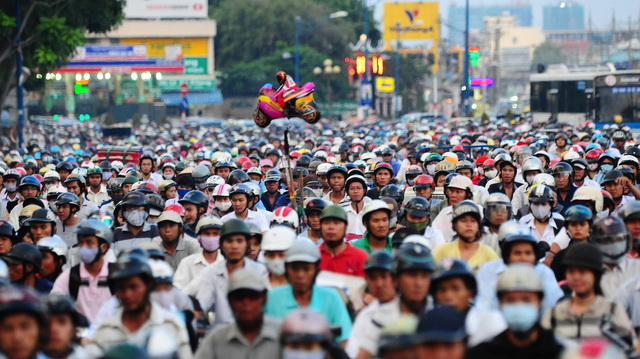 Ho Chi Minh City transport infrastructure lags behind population growth