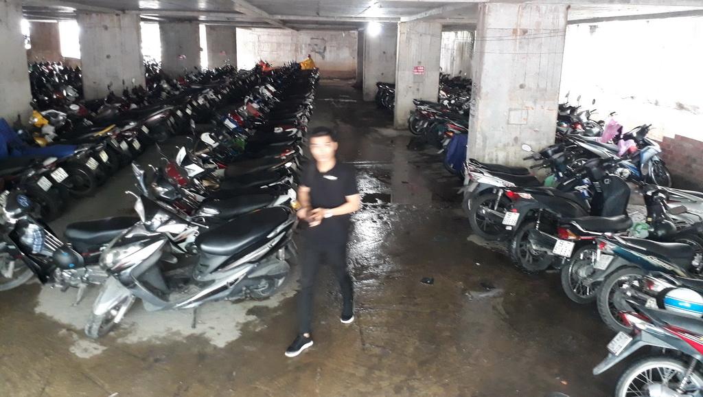 Ho Chi Minh City buildings combat flooded parking basements