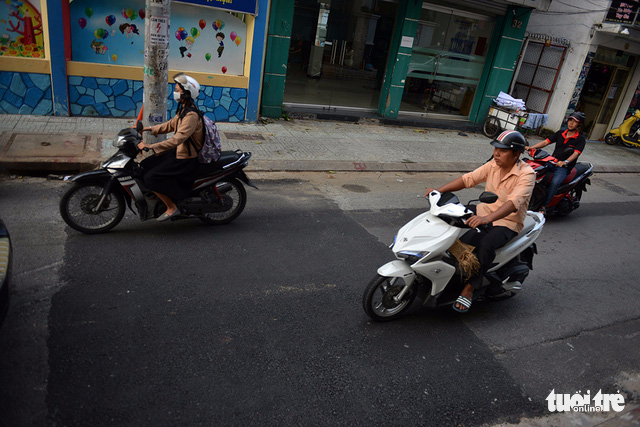 City streets uneven after roadwork in Ho Chi Minh City