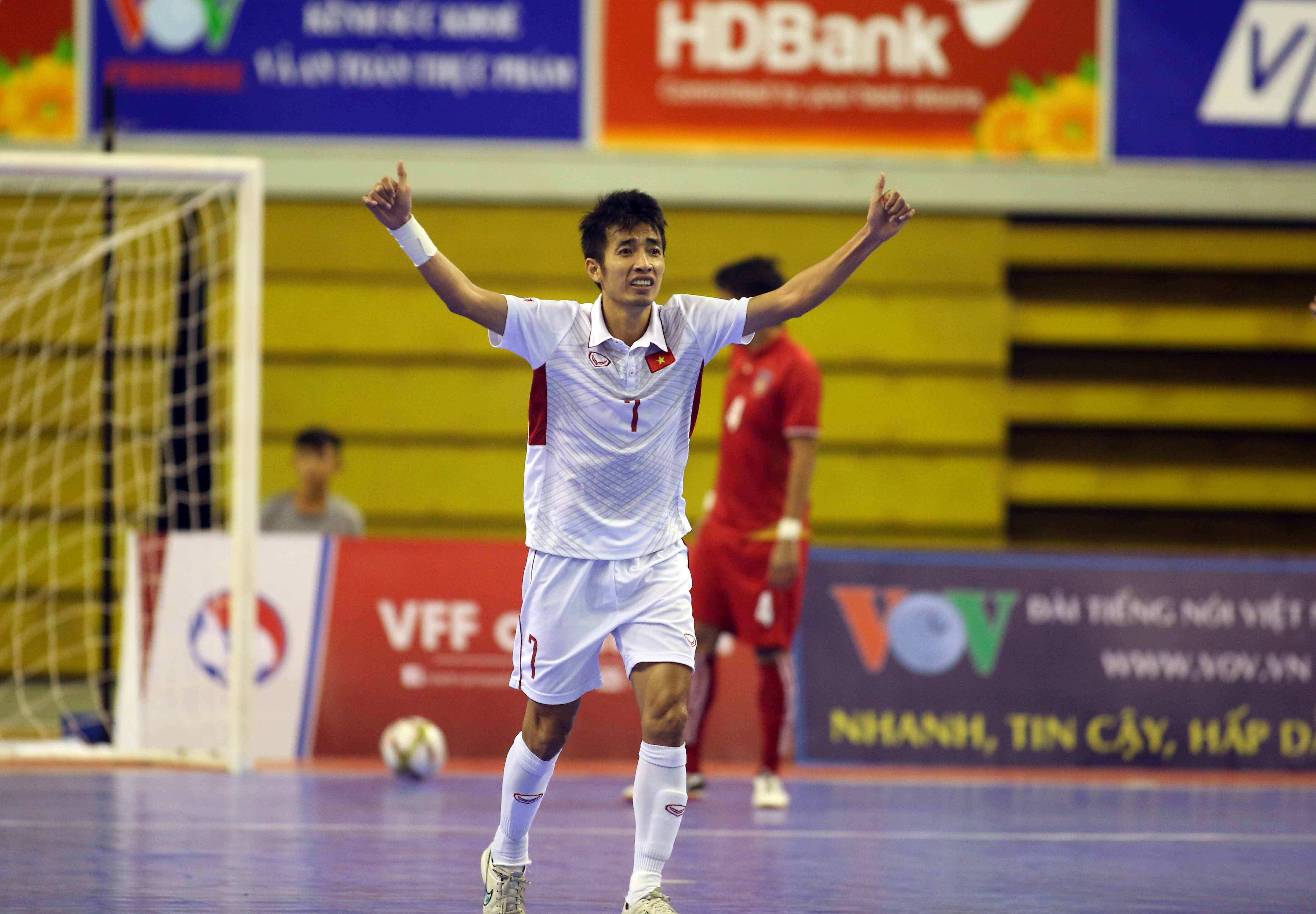 Vietnam enter semifinals after dramatic Myanmar win in AFF Futsal Championship