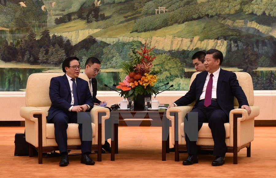 China's General Secretary Xi welcomes Vietnamese Party chief's special envoy in Beijing