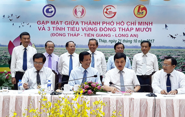 ​Ho Chi Minh City inks tourism deal with 3 Mekong Delta provinces