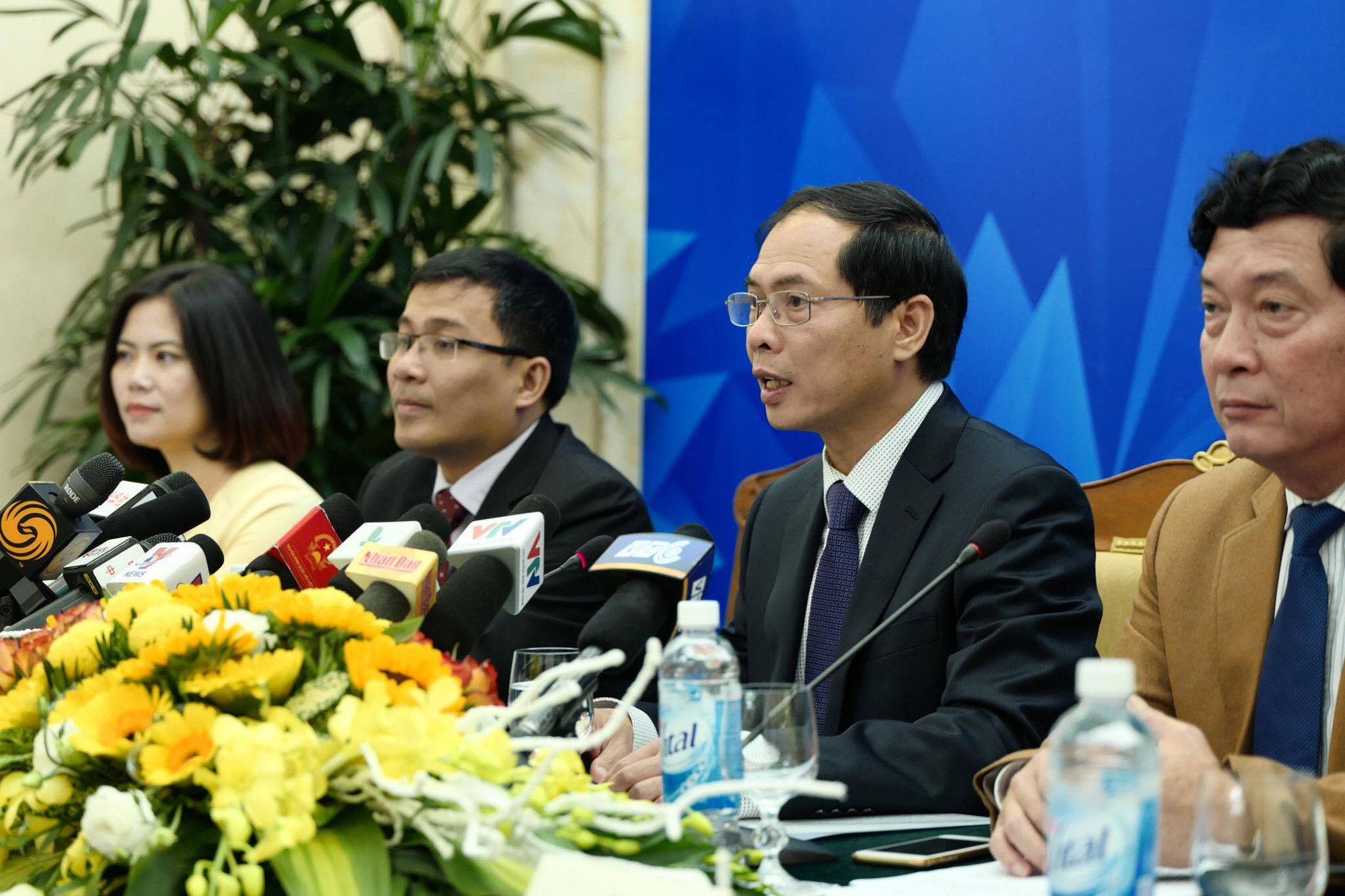 Press conference for APEC summit week convened in Da Nang