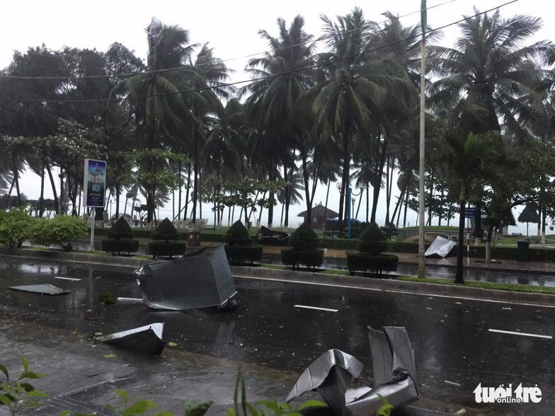 Powerful storm Damrey wreaks havoc in south-central Vietnam