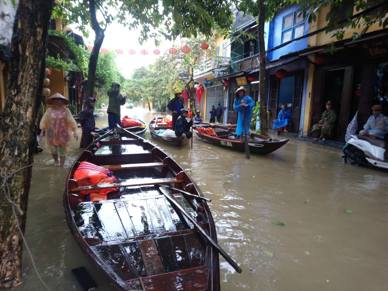 Soaked to the bone in Hoi An