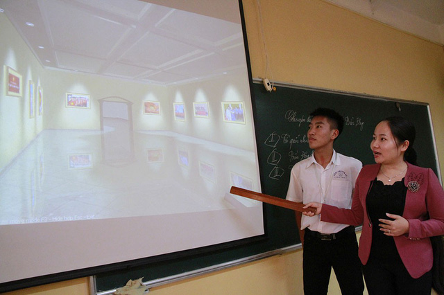 ​Vietnamese teacher creates 3D museums for history lessons