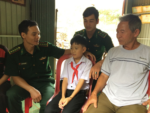 Vietnamese schoolboy diagnosed with leukemia dreams to become doctor