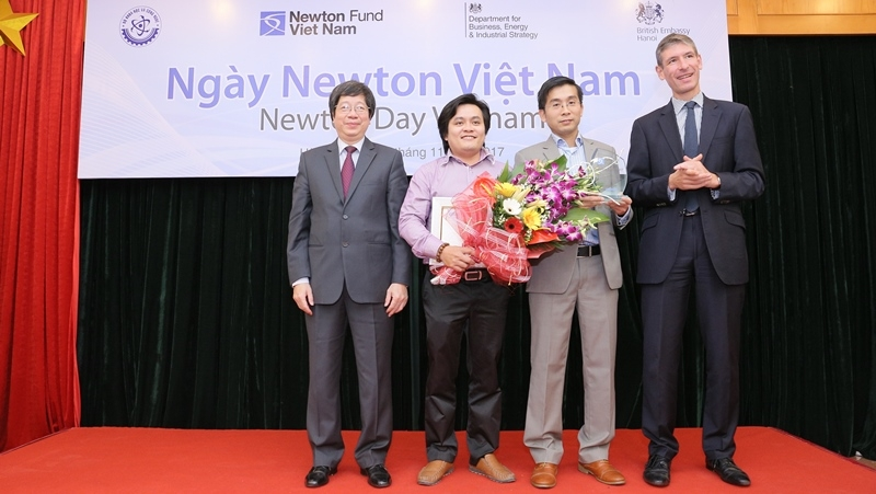 ​UK-Vietnam project wins prestigious Newton Prize