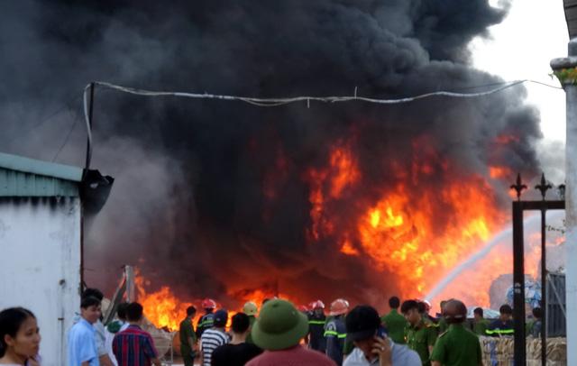 Blackout hits entire Vung Tau as fire blazes near major power line