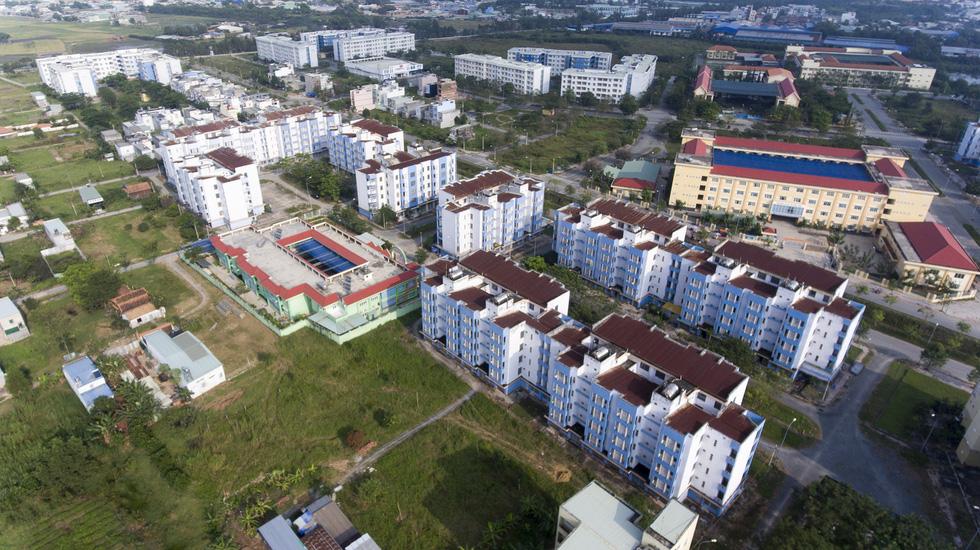 Houses for resettlement deserted in Ho Chi Minh City