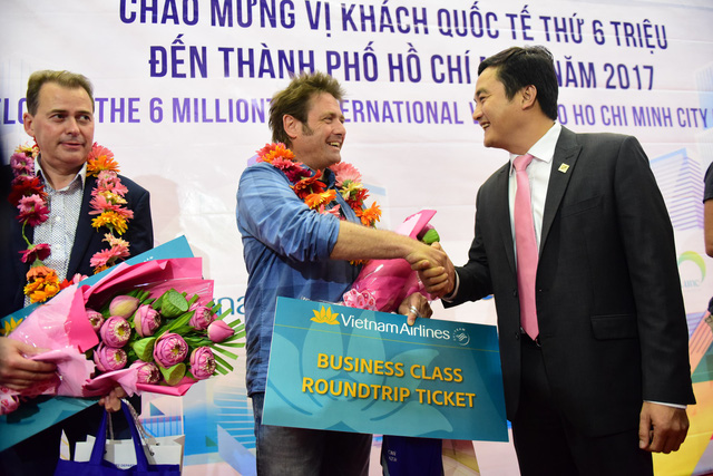​Ho Chi Minh City welcomes six-millionth int'l visitor in 2017