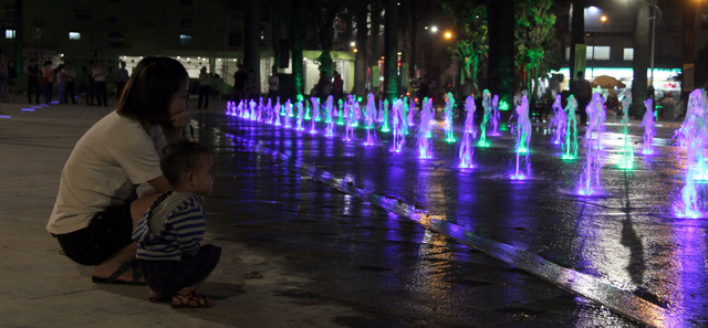 Former vice park becomes family-friendly square in Ho Chi Minh City