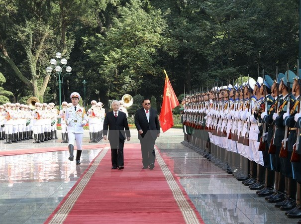 Vietnam, Laos fortify special relationship